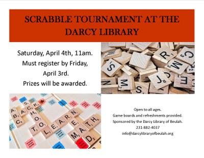 Cancelled - Scrabble Tournament